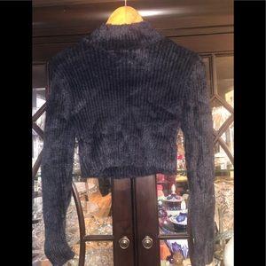 Blush turtleneck sweater size medium